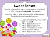 Using the Senses (KS1 Poetry Unit) Teaching Resources (slide 23/59)